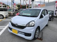 沖縄の中古車 ダイハツ ミライース 車両価格 103万円 リ済別 平成28年 0.4万K ライトブルー
