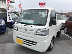沖縄の中古車 ダイハツ ハイゼットトラック 車両価格 85万円 リ済別 平成27年 0.6万K ホワイト
