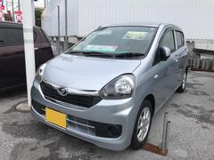 沖縄の中古車 ダイハツ ミライース 車両価格 97万円 リ済別 平成28年 0.4万K シルバー