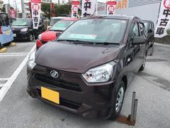 沖縄の中古車 ダイハツ ミライース 車両価格 97万円 リ済別 平成29年 0.4万K ブラウン