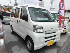 沖縄の中古車 ダイハツ ハイゼットカーゴ 車両価格 98万円 リ済別 平成28年 5K ホワイト