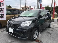 沖縄の中古車 ダイハツ ブーン 車両価格 130万円 リ済別 平成29年 1.7万K ブラック