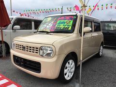 沖縄の中古車 スズキ アルトラパン 車両価格 58万円 リ済込 平成22年 9.6万K ベージュII