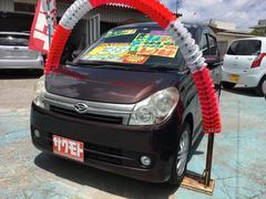 沖縄の中古車 ダイハツ ミラカスタム 車両価格 37万円 リ済込 平成21年 9.9万K プラムブラウンクリスタルマイカ