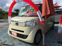 沖縄の中古車 ホンダ N BOX 車両価格 68万円 リ済込 平成24年 10.5万K ベージュホワイト