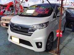 沖縄の中古車 日産 デイズ 車両価格 68万円 リ済込 平成25年 10.5万K ホワイトパール