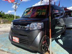 沖縄の中古車 ホンダ N−BOXスラッシュ 車両価格 97万円 リ済込 平成27年 8.6万K ポリッシュドメタルメタリックII