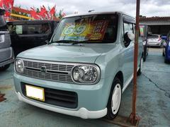 沖縄の中古車 スズキ アルトラパン 車両価格 58万円 リ済込 平成23年 8.1万K アロマティックアクアメタリック