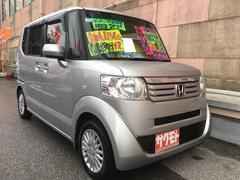 沖縄の中古車 ホンダ N BOX+ 車両価格 88万円 リ済込 平成24年 9.2万K アラバスターシルバーメタリック