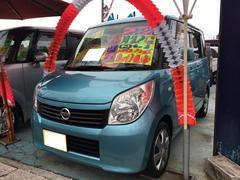 沖縄の中古車 日産 ルークス 車両価格 47万円 リ済込 平成22年 10.2万K グリーンM