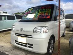 沖縄の中古車 ダイハツ タント 車両価格 58万円 リ済別 平成22年 8.4万K パールホワイトIII