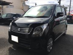 沖縄の中古車 スズキ ワゴンR 車両価格 58万円 リ済込 平成24年 9.7万K ブルーイッシュブラックパール3