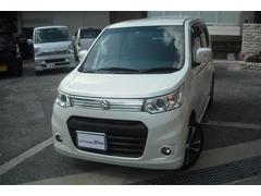 沖縄の中古車 スズキ ワゴンRスティングレー 車両価格 72万円 リ済別 平成24年 7.0万K パールホワイト