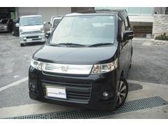 沖縄の中古車 スズキ ワゴンRスティングレー 車両価格 66万円 リ済別 平成23年 8.0万K ブラックM