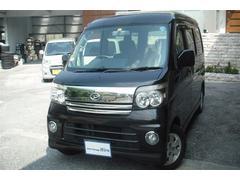 沖縄の中古車 ダイハツ アトレーワゴン 車両価格 49万円 リ済別 平成19年 10.8万K ブラックM