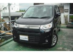 沖縄の中古車 スズキ ワゴンRスティングレー 車両価格 72万円 リ済別 平成25年 7.7万K ブラックM