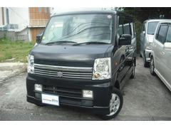沖縄の中古車 スズキ エブリイワゴン 車両価格 49万円 リ済別 平成18年 10.0万K ブラックM