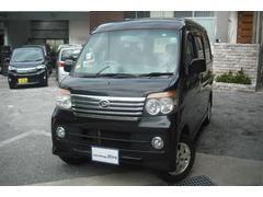 沖縄の中古車 ダイハツ アトレーワゴン 車両価格 64万円 リ済別 平成23年 9.2万K ブラックM