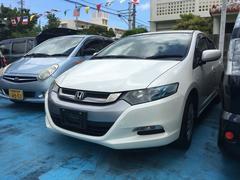 沖縄の中古車 ホンダ インサイト 車両価格 56万円 リ済込 平成22年 9.2万K スペクトラムホワイトパール