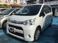 沖縄の中古車 ダイハツ ムーヴ 車両価格 39万円 リ済込 平成23年 14.1万K パールホワイトIII