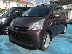 沖縄の中古車 スバル ステラ 車両価格 49万円 リ済込 平成24年 3.0万K パープルM
