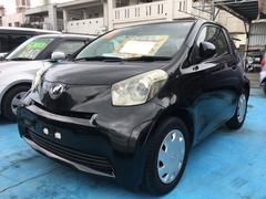 沖縄の中古車 トヨタ iQ 車両価格 35万円 リ済込 平成21年 10.9万K ブラックマイカ