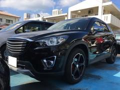 沖縄の中古車 マツダ CX−5 車両価格 178万円 リ済込 平成24年 8.2万K ブラックマイカ