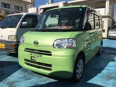 沖縄の中古車 ダイハツ タント 車両価格 53万円 リ済込 平成23年 8.8万K マスカットグリーンメタリック