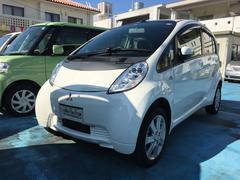 沖縄の中古車 三菱 アイミーブ 車両価格 53万円 リ済込 平成22年 4.8万K ホワイトソリッド