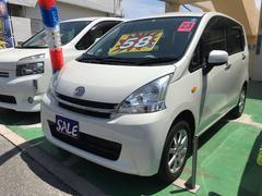 沖縄の中古車 ダイハツ ムーヴ 車両価格 58万円 リ済別 平成23年 8.3万K パールホワイトIII