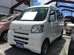 沖縄の中古車 ダイハツ ハイゼットカーゴ 車両価格 49万円 リ済込 平成24年 8.6万K ホワイト
