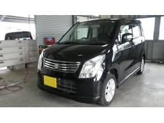 沖縄の中古車 スズキ ワゴンR 車両価格 45万円 リ済別 平成22年 9.9万K ブルーイッシュブラックパール3