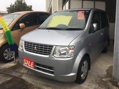 沖縄の中古車 三菱 eKワゴン 車両価格 25万円 リ済別 平成20年 9.0万K ドーンシルバーメタリック