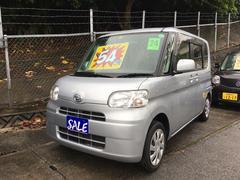 沖縄の中古車 ダイハツ タント 車両価格 54万円 リ済別 平成24年 8.8万K ブライトシルバーメタリック