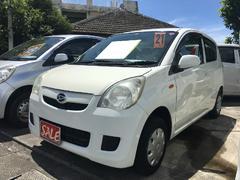 沖縄の中古車 ダイハツ ミラ 車両価格 19万円 リ済別 平成21年 8.4万K ホワイト