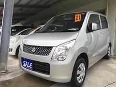 沖縄の中古車 スズキ ワゴンR 車両価格 34万円 リ済別 平成21年 7.5万K シルキーシルバーメタリック