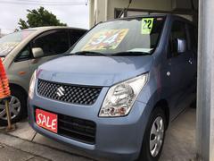 沖縄の中古車 スズキ ワゴンR 車両価格 34万円 リ済別 平成22年 10.9万K ブリーズブルーメタリック