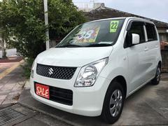 沖縄の中古車 スズキ ワゴンR 車両価格 38万円 リ済別 平成22年 8.4万K パールホワイト