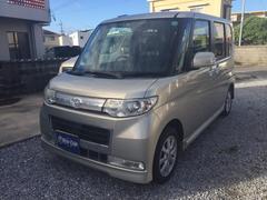 沖縄の中古車 ダイハツ タント 車両価格 39万円 リ済込 平成21年 14.1万K Sゴールド