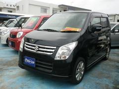 沖縄の中古車 スズキ ワゴンR 車両価格 39万円 リ済込 平成22年 13.9万K ブラック