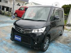 沖縄の中古車 日産 ルークス 車両価格 49万円 リ済込 平成22年 13.2万K ブラック