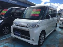 沖縄の中古車 ダイハツ タント 車両価格 56万円 リ済込 平成22年 13.4万K パールホワイト