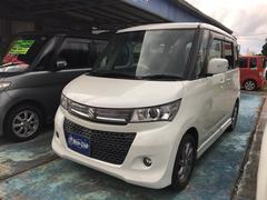 沖縄の中古車 スズキ パレットSW 車両価格 52万円 リ済込 平成22年 14.5万K ホワイト