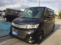 沖縄の中古車 スズキ パレットSW 車両価格 58万円 リ済込 平成23年 10.3万K ブラック