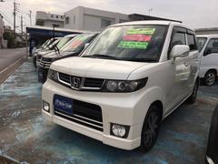 沖縄の中古車 ホンダ ゼストスパーク 車両価格 42万円 リ済込 平成22年 12.5万K パールホワイト