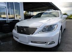 沖縄の中古車 レクサス LS 車両価格 185万円 リ済込 平成21年 10.2万K ホワイトパールクリスタルシャイン