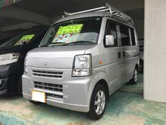 沖縄の中古車 スズキ エブリイ 車両価格 69万円 リ済込 平成24年 9.7万K シルキーシルバーメタリック