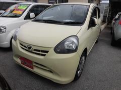 沖縄の中古車 ダイハツ ミライース 車両価格 44万円 リ済込 平成23年 6.6万K ライトイエロー