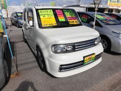 沖縄の中古車 日産 キューブ 車両価格 69万円 リ済込 平成24年 8.0万K パール