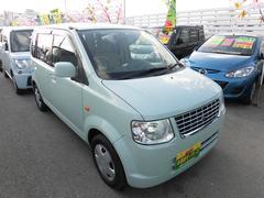 沖縄の中古車 三菱 eKワゴン 車両価格 34万円 リ済込 平成22年 8.1万K グリーン